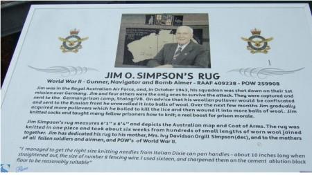 rug plaque