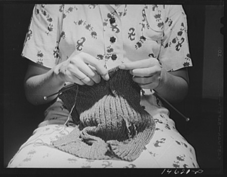 woman knitting loc 1941 copy