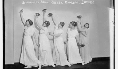 greek cymbal dance