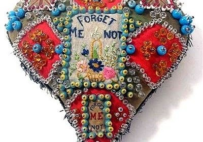 forget me not pin cushion