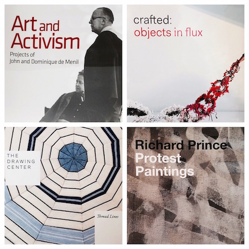 Books from the Menil Collection bookstore